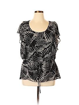 Elle Short Sleeve Blouse Size XL