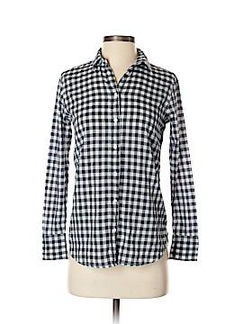 J. Crew Long Sleeve Button-Down Shirt Size 00 (Petite)
