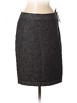 Elie Tahari Denim Skirt Size 8