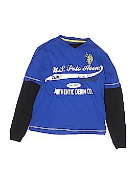 U.S. Polo Assn. Long Sleeve T-Shirt Size 8