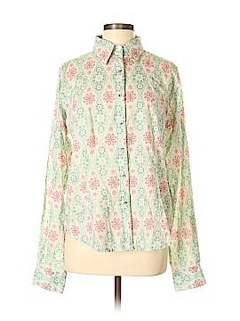 Twenty X Long Sleeve Button-Down Shirt Size L