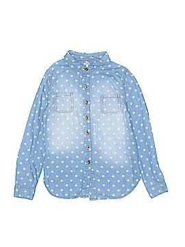 Cherokee Long Sleeve Button-Down Shirt Size 6X