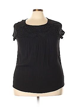 Nicole Miller New York City Short Sleeve Blouse Size XXL