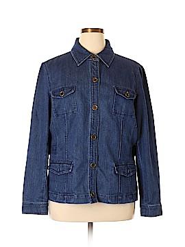 Jones New York Sport Denim Jacket Size XXL
