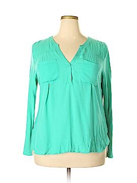 Merona Long Sleeve Blouse Size XXL