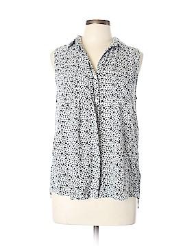 Velvet Heart Sleeveless Button-Down Shirt Size XL