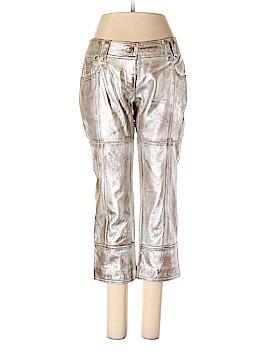 Patrizia Pepe Leather Pants Size 42 (IT)