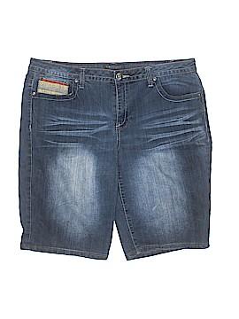 Baccini Denim Shorts Size 14