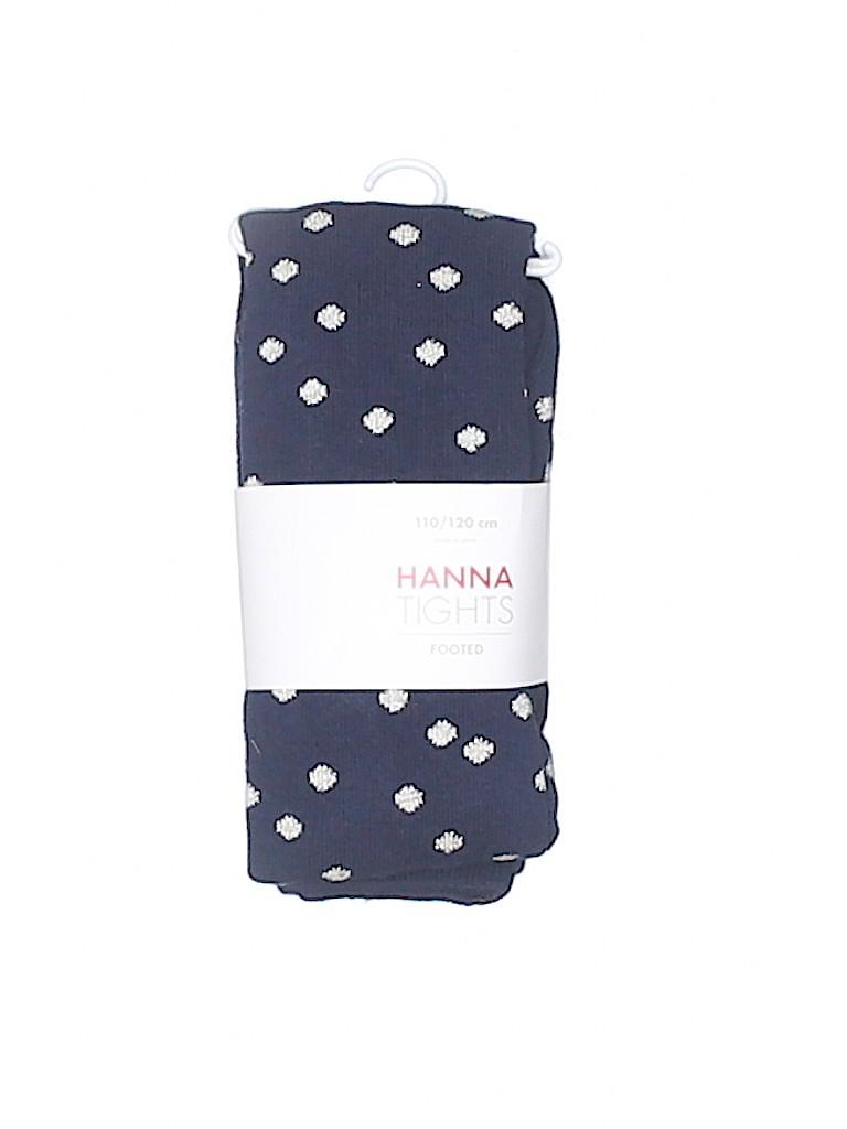 d647d1001ecc5 Hanna Andersson Print Dark Blue Tights Size 110 - 120 cm - 58% off ...