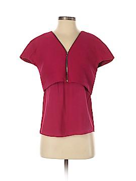 Maje Short Sleeve Blouse Size Sm (1)