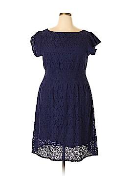 Pinky Casual Dress Size 2X (Plus)