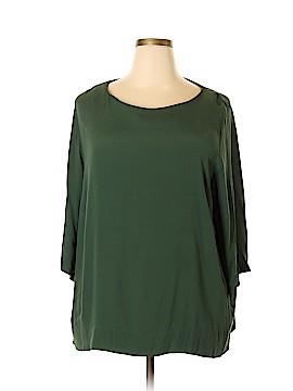 H&M 3/4 Sleeve Blouse Size 18 (Plus)