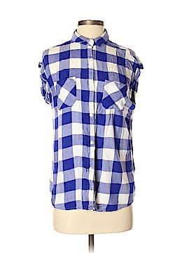 Rails Short Sleeve Button-Down Shirt Size S