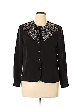 Christie & Jill Long Sleeve Blouse Size 14