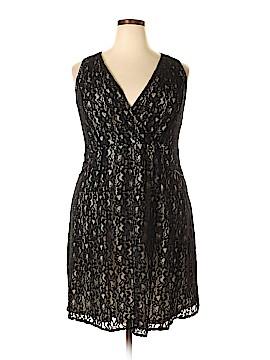 Lane Bryant Casual Dress Size 18 (Plus)