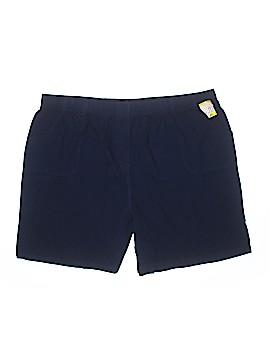Basic Editions Khaki Shorts Size 2X (Plus)