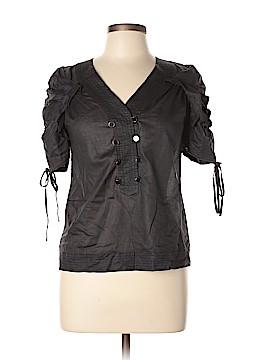Leifsdottir Short Sleeve Blouse Size 4