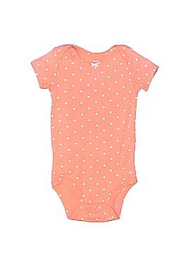 Carter's Short Sleeve Onesie Size 12 mo