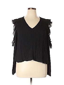 Trafaluc by Zara Long Sleeve Blouse Size XL