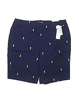 Charter Club Khaki Shorts Size 14w