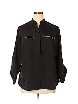 MICHAEL Michael Kors Long Sleeve Blouse Size 1X (Plus)