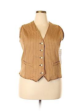 DG^2 by Diane Gilman Tuxedo Vest Size 3X (Plus)