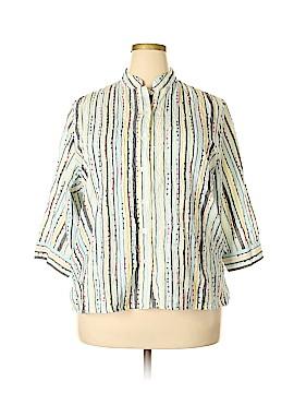 Breckenridge 3/4 Sleeve Blouse Size 1X (Plus)