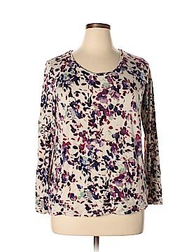Simply Vera Vera Wang Long Sleeve T-Shirt Size XL