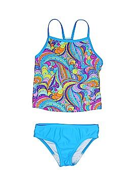 Speedo Two Piece Swimsuit Size 5