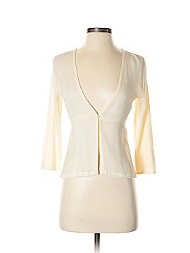 White House Black Market Long Sleeve Silk Top Size XS
