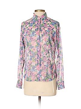 Ines de la Fressange for Uniqlo Long Sleeve Blouse Size S