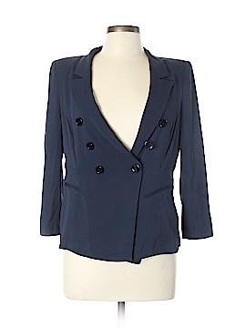 Armani Collezioni Silk Blazer Size 10