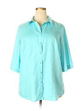 Coldwater Creek Short Sleeve Button-Down Shirt Size 20 - 22 (Plus)