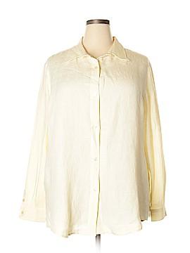 Coldwater Creek Long Sleeve Button-Down Shirt Size XXL