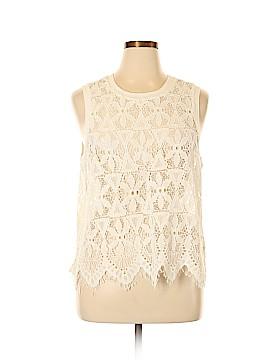 Deletta Sleeveless Blouse Size XL