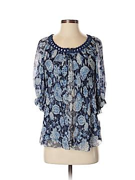 Cynthia Cynthia Steffe 3/4 Sleeve Silk Top Size 2