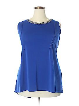 Belldini Sleeveless Blouse Size 3X (Plus)