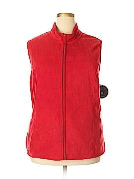 Karen Scott Sport Vest Size 3X (Plus)