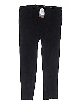 Roberto Cavalli Leather Pants Size 40 (IT)