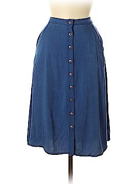 Forever 21 Denim Skirt Size 28 (Plus)