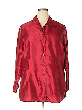 Lane Bryant 3/4 Sleeve Blouse Size 18 - 20 Plus (Plus)