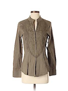 Haven Bleu Long Sleeve Button-Down Shirt Size M