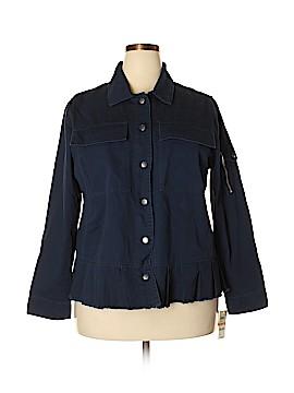 Style&Co Denim Jacket Size 2X (Plus)