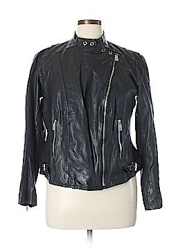 Lauren by Ralph Lauren Leather Jacket Size 14