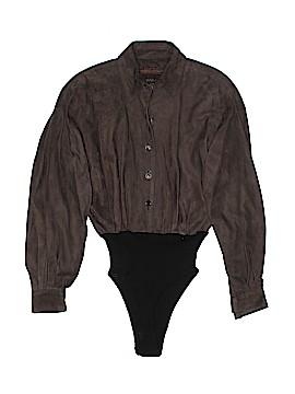 Donna Karan New York Long Sleeve Button-Down Shirt Size 10