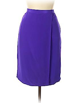 Diane von Furstenberg Silk Skirt Size L