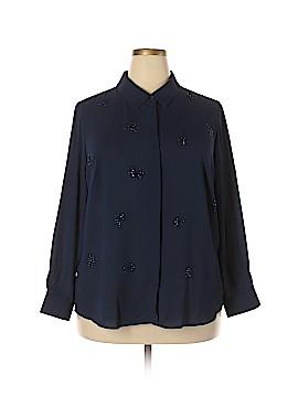Joan Rivers Long Sleeve Blouse Size 1X (Plus)