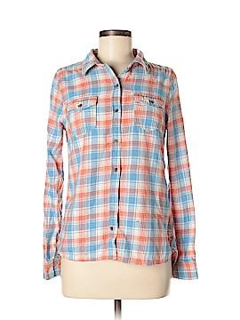 Vanilla Star Long Sleeve Button-Down Shirt Size M