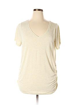 Lane Bryant Short Sleeve Blouse Size 18/20 (Plus)