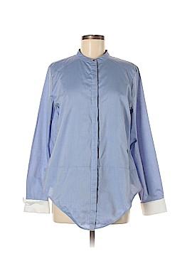 Chelsea28 Long Sleeve Button-Down Shirt Size L